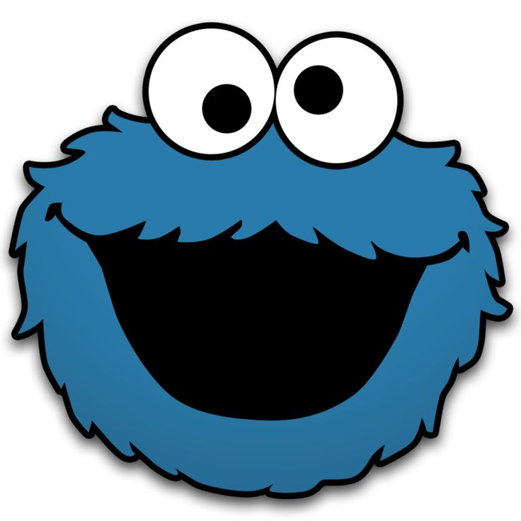 Accomplished image for cookie monster printable