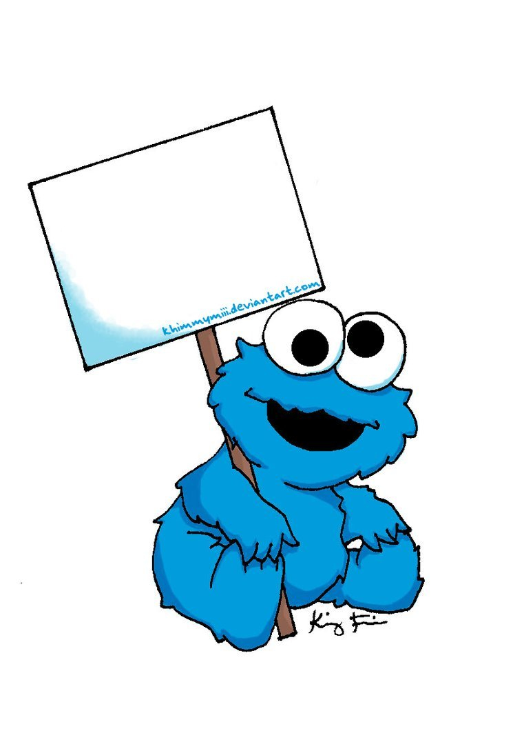 picture relating to Printable Cookie Monster Face known as Cookie Monster Clip Artwork Printable Clipart Panda - Free of charge