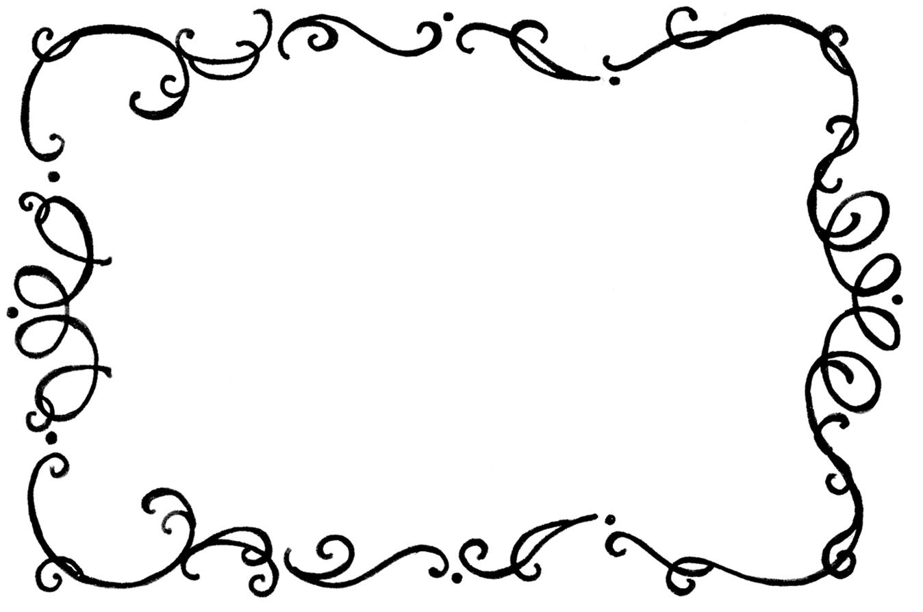 Line Art Borders : Cooking borders and frames clipart panda free