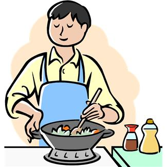 Cooking Clipart Black And White | Clipart Panda - Free ...