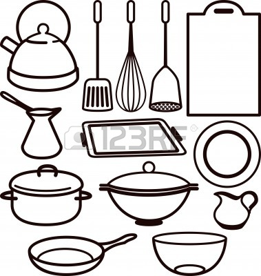Cooking Utensils Drawing 10064665 Kitchen Utensil
