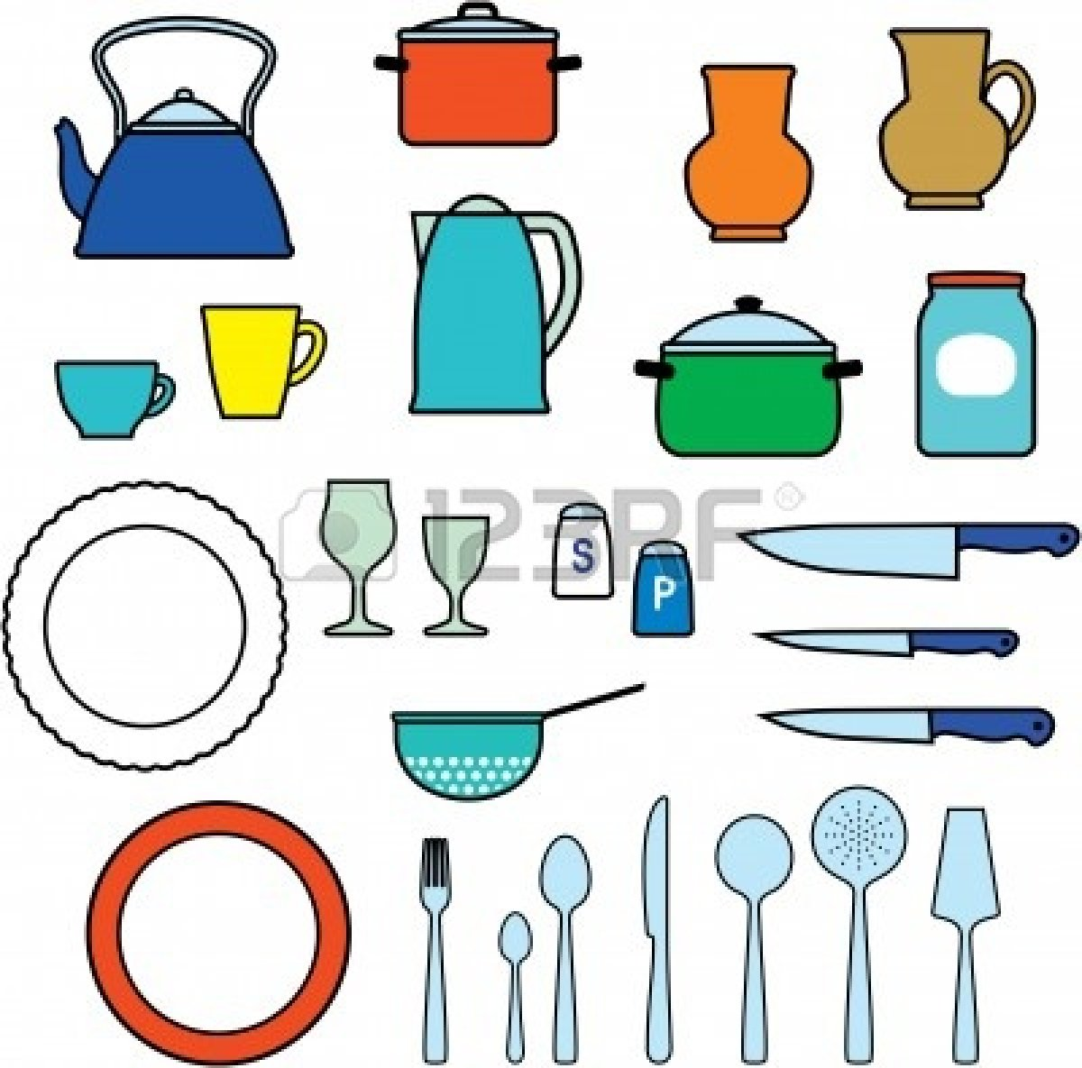 Kitchen Equipment Clip Art ~ Cooking utensils images clipart panda free
