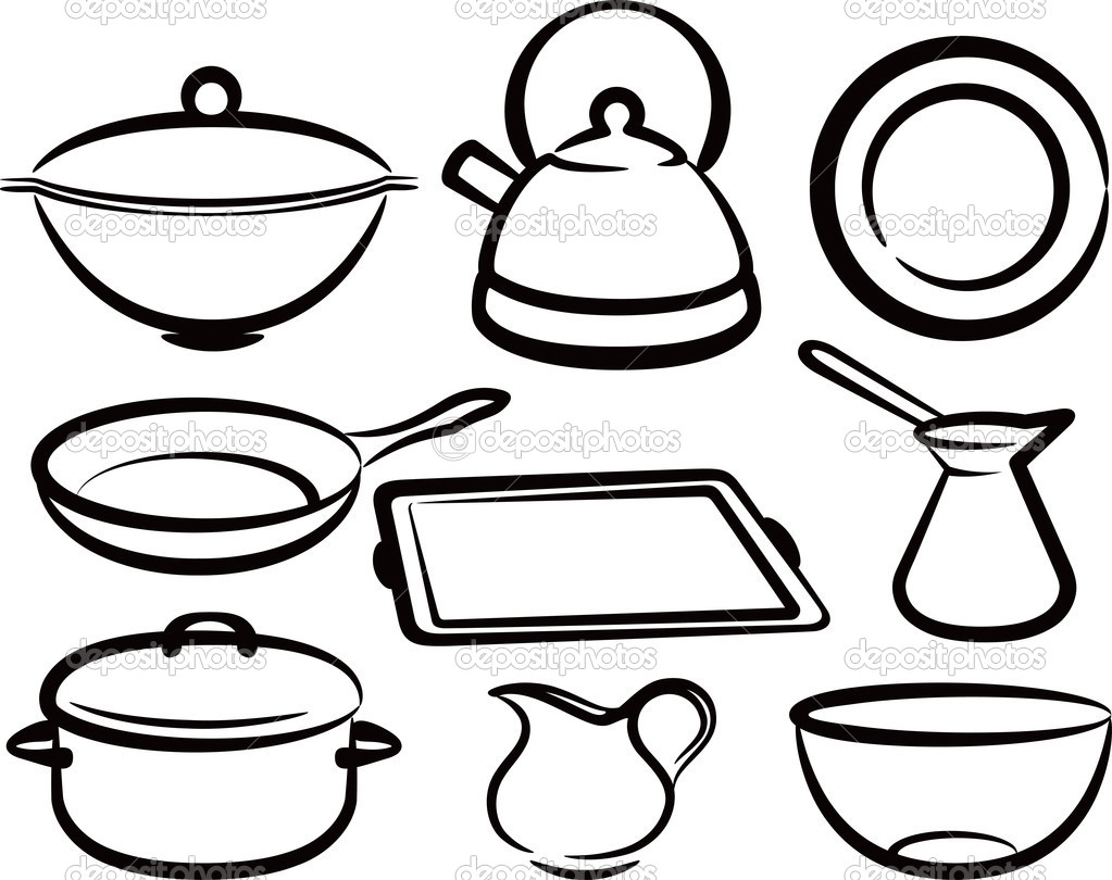 Kitchen Tools Drawings Kitchen Utensils Drawings  Crowdbuild For