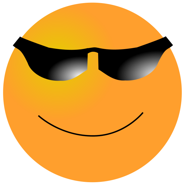 smiley cool clipart clipart panda free clipart images sunglasses clip art black and white sunglass clip art free