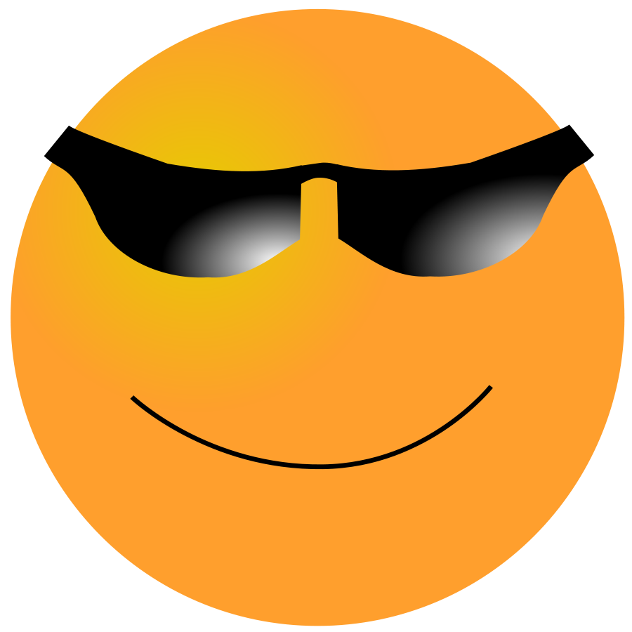 smiley cool clipart image clipart panda free clipart images rh clipartpanda com cool clip art borders cool clip art for pajama day at work