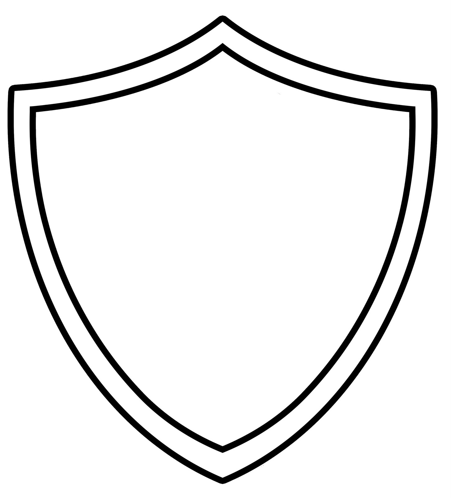 Cool shield template clipart panda free clipart images for Cool drawing sites