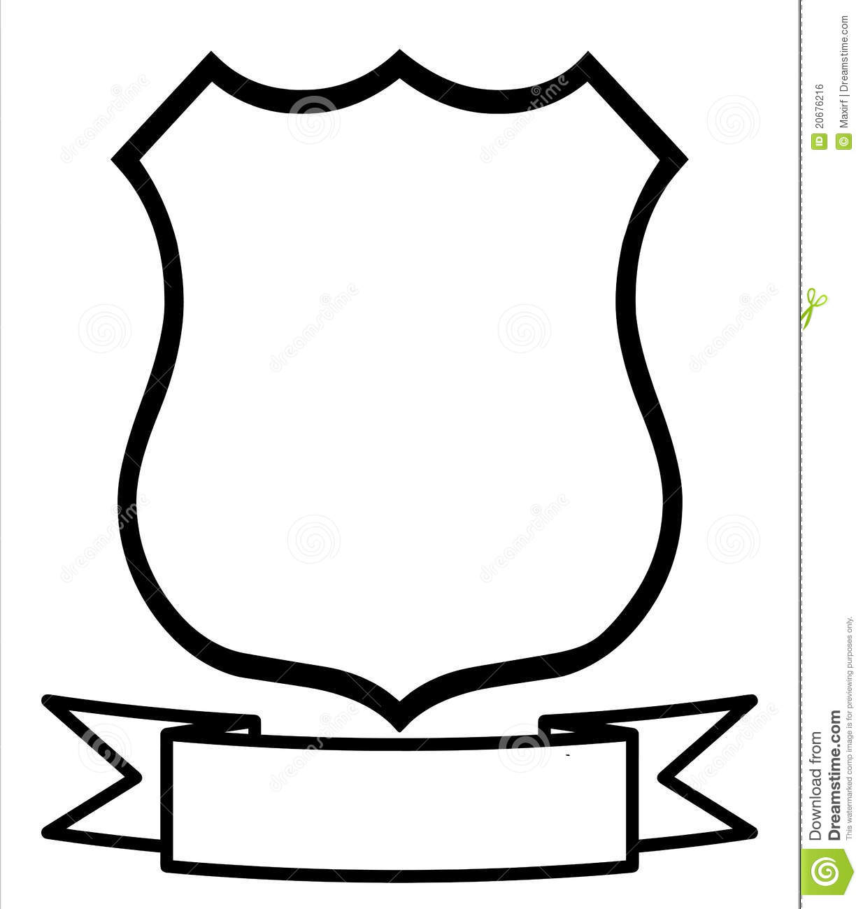 Cool Shield Template | Clipart Panda - Free Clipart Images