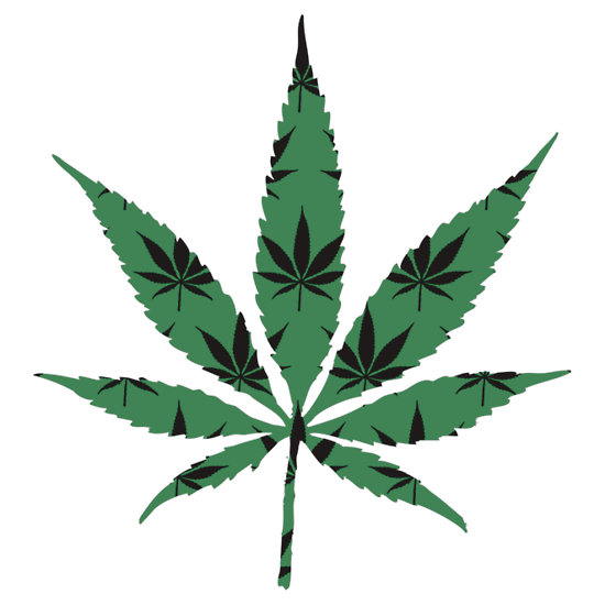 Cool weed symbol clipart panda free clipart images for Weed leaf template