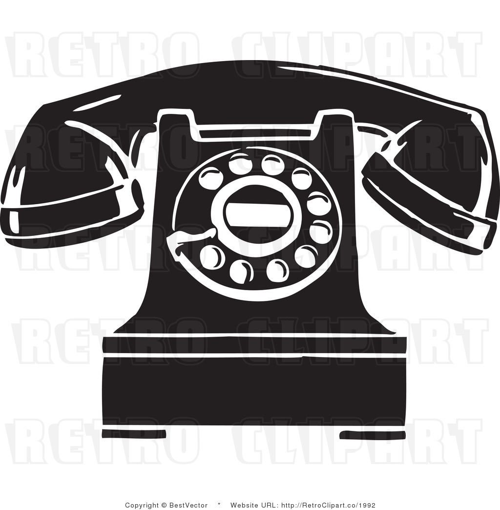 vintage telephone clipart - photo #26