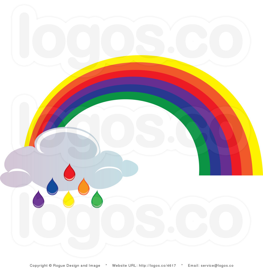 clipart rainbow with clouds - photo #31