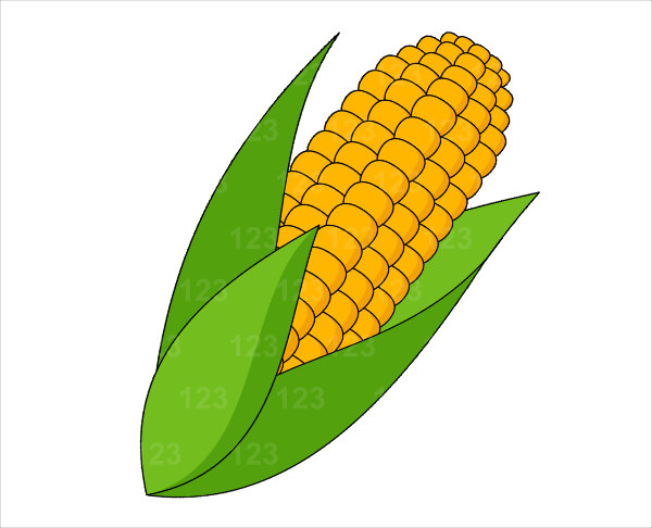 Corn clip art free clipart panda free clipart images for Free drawing websites no download