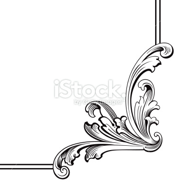 Victorian scroll clip art png clipart panda free clipart images - Pics Photos Corner Scroll Design Stock Illustration