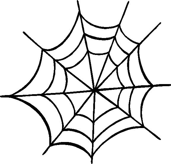 Corner spider web clipart clipart panda free clipart - Spider outline clip art ...