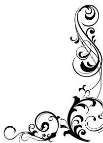 corner swirls design clipart panda free clipart images