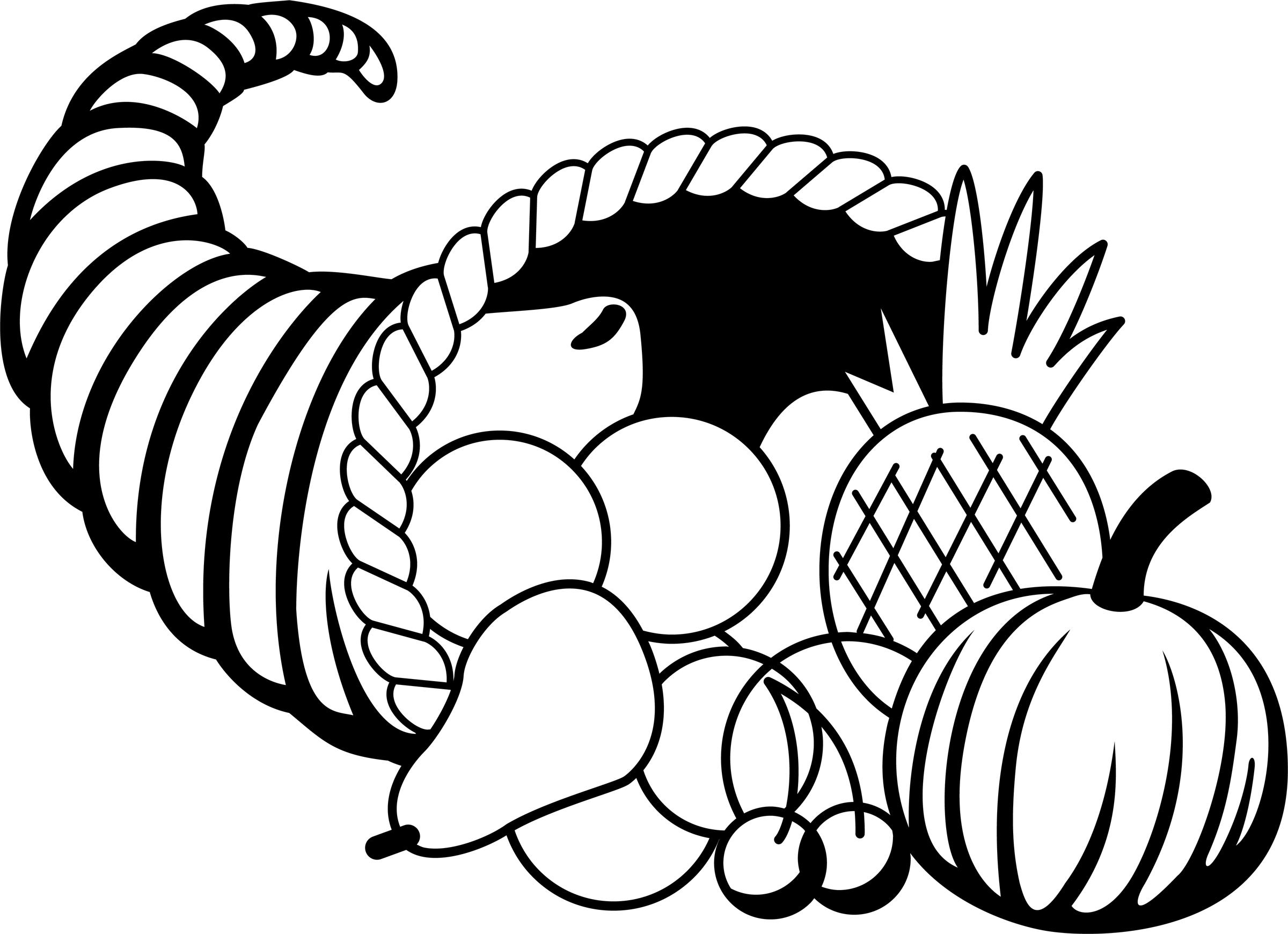 Cornucopia Clip Art