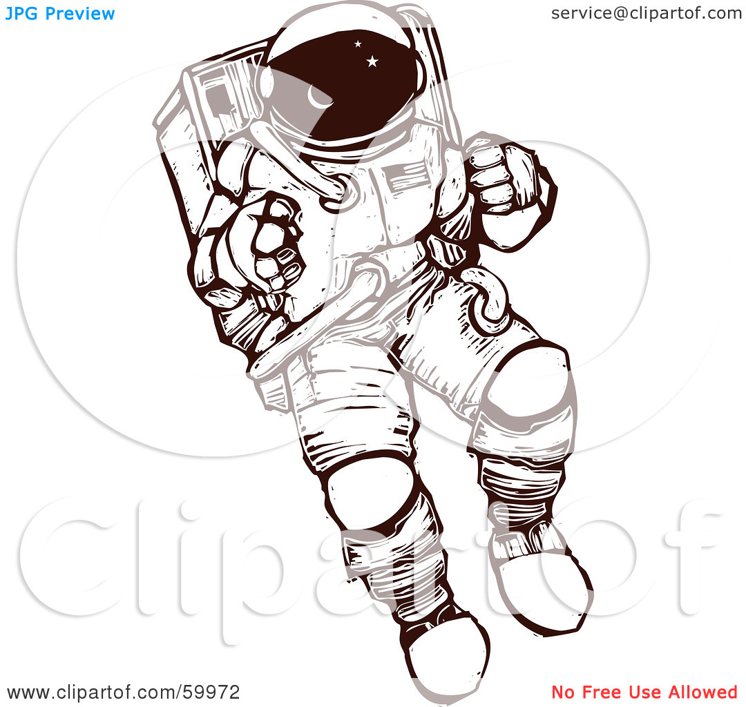 detailed drawings of astronauts - photo #43