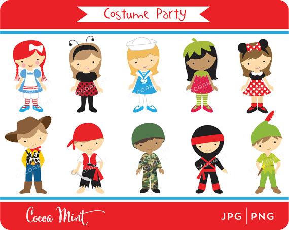 Kids Christmas Tree Costume Clipart