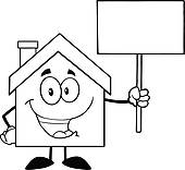 cottage%20clipart%20black%20and%20white