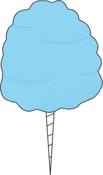 Blue Cotton Candy | Clipart Panda - Free Clipart Images