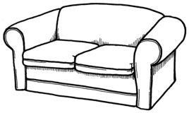 couch stock photo clipart panda free clipart images rh clipartpanda com clipart sac de couchage clip art crocheting