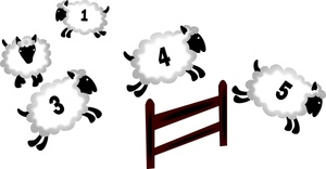 Counting Sheep Sleep | Clipart Panda - Free Clipart Images