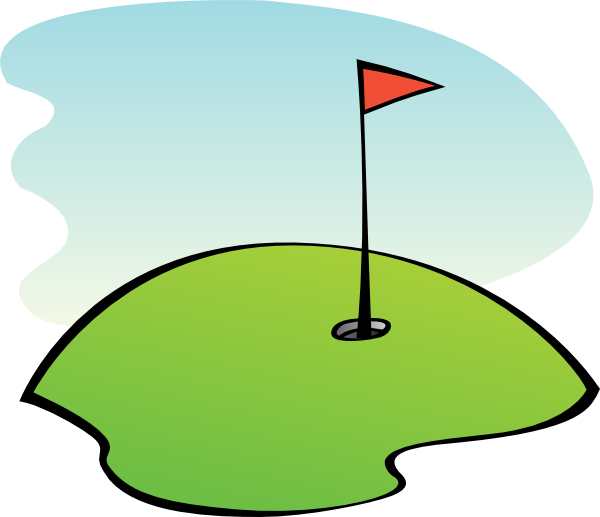 Clip Art Golf Green