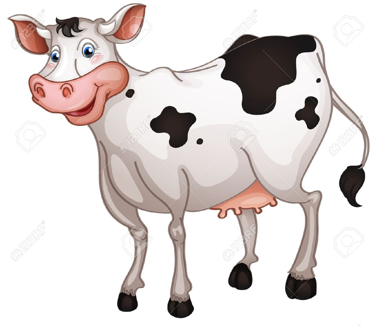Cow Clip Art Free Cartoon | Clipart Panda - Free Clipart ...