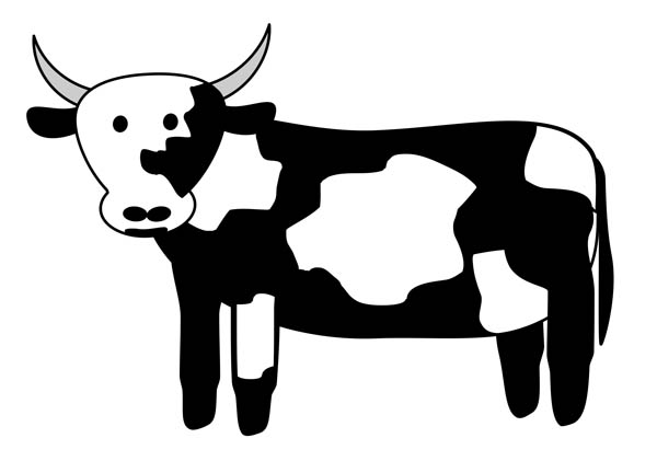 cow clipart black and white clipart panda free clipart images rh clipartpanda com free cow clip art black and white free crow clip art