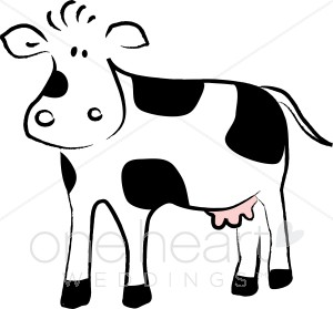 Dairy Clipart Black And White on steer head clip art
