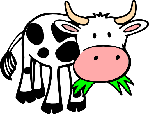 Cow Clipart With Transparent Background | Clipart Panda - Free Clipart ...