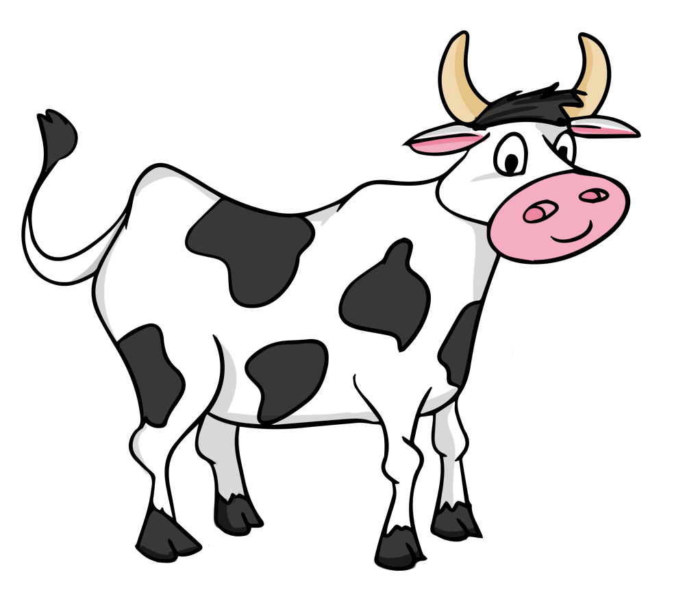 Cow Clipart With Transparent Background | Clipart Panda ...