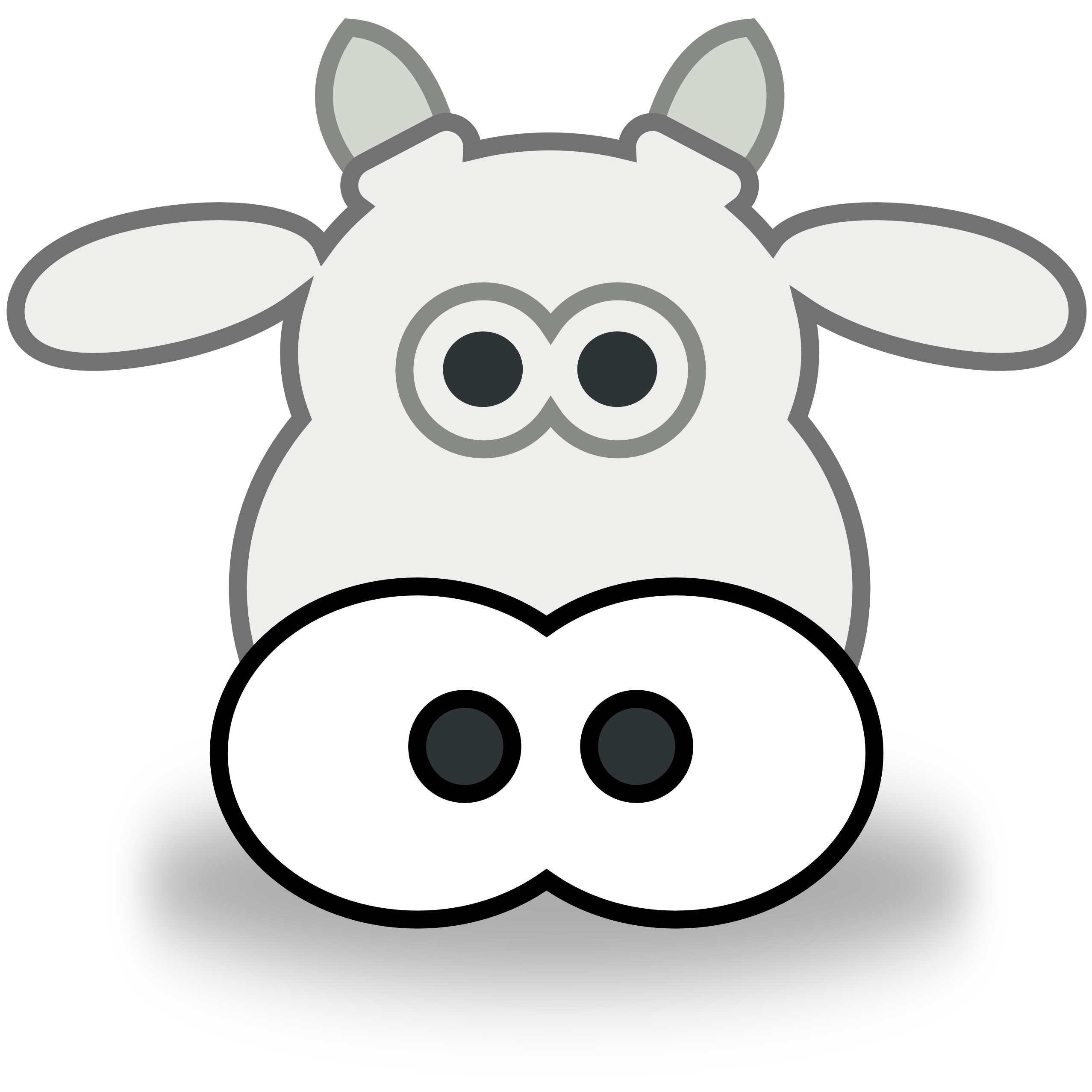 cow head clipart clipart panda free clipart images rh clipartpanda com cow head clip art black and white cartoon cow head clip art