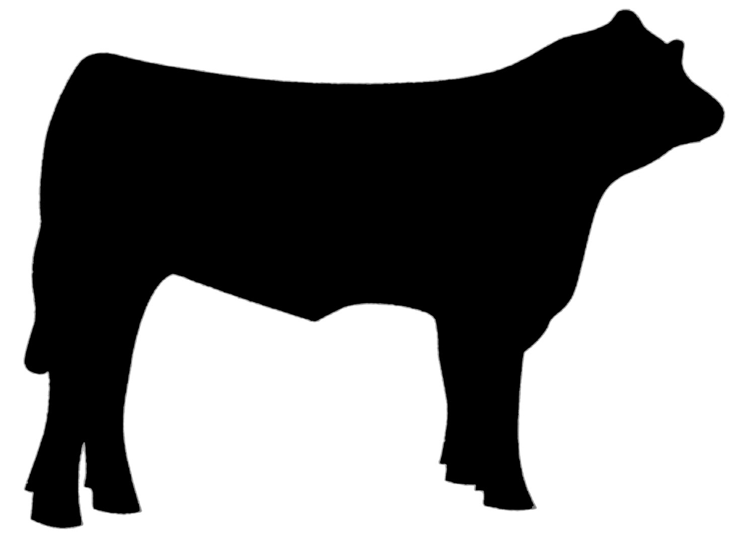 Cow Head Clipart Black And White | Clipart Panda - Free Clipart Images