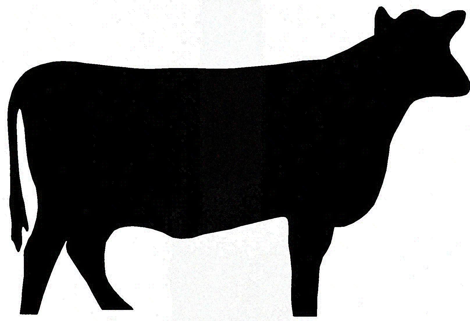 Beef Cow Silhouette | Clipart Panda - Free Clipart Images