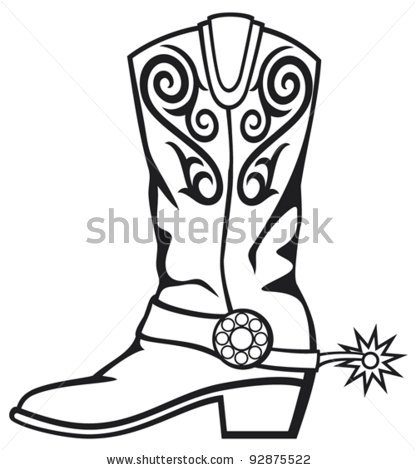 cowboy boots clipart black and white clipart panda free clipart rh clipartpanda com clipart western boots free clipart of cowboy boots