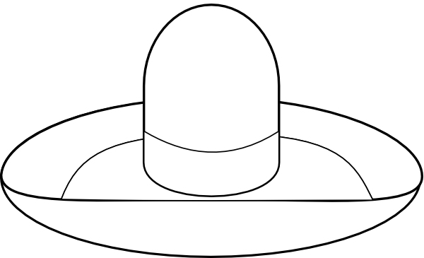 cowboy%20hat%20clipart%20black%20and%20white
