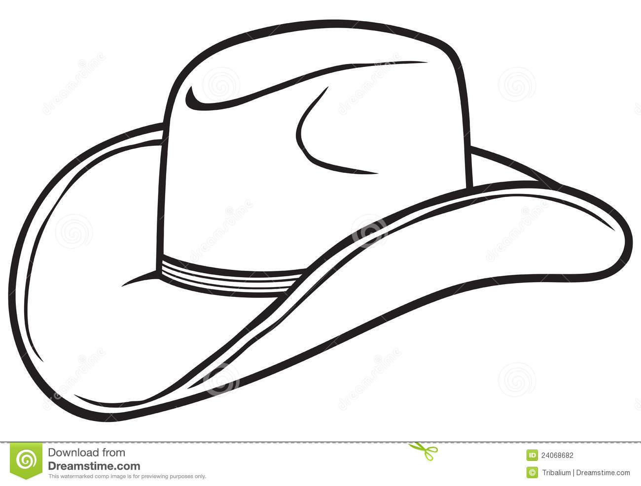 Clip Art Cowboy Hat Clip Art cowboy hat clipart black and white panda free clipart