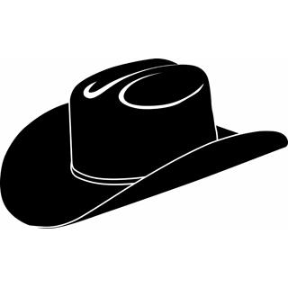 Cowboy hat tejano. Vector clip art clipart