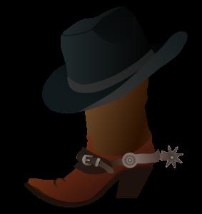 Cowboy hat svg. Boot and clipart panda