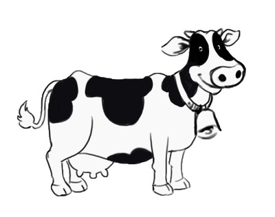 Clip Art Cow Clipart Black And White cow clip art black and white clipart panda free images cows art