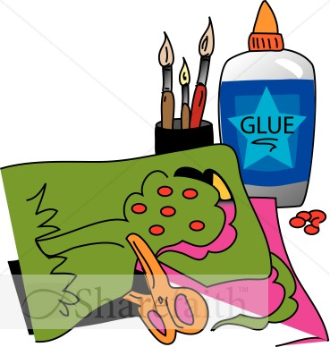 Christmas Tree Crafts Clipart