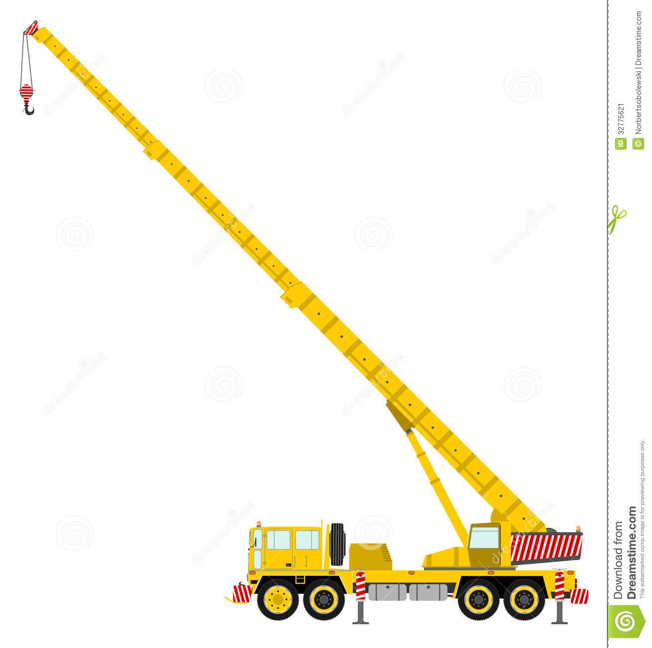 Mobile Crane Terminology : Crane clip art images clipart panda free