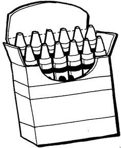 crayon box coloring page crayon box coloring page clipart panda free clipart images