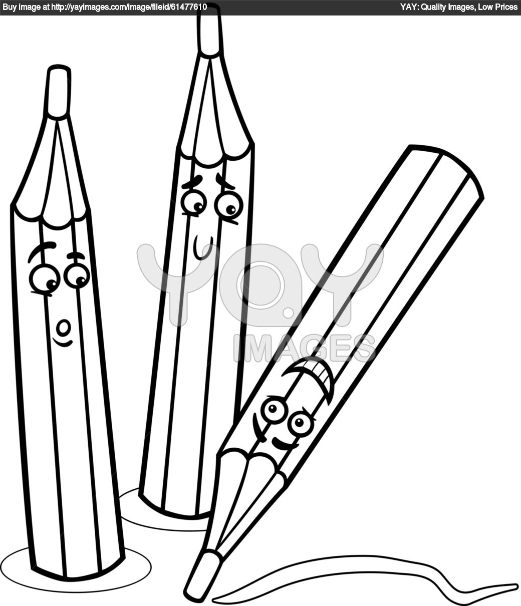Free A Crayon Coloring Pages