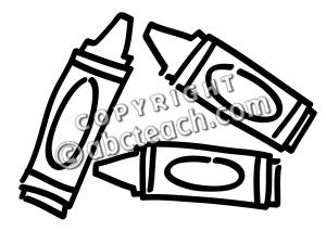 crayon%20clip%20art%20black%20and%20white