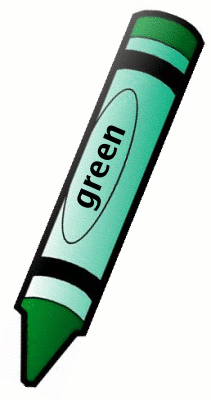 Green Crayon Clip Art | Clipart Panda - Free Clipart Images