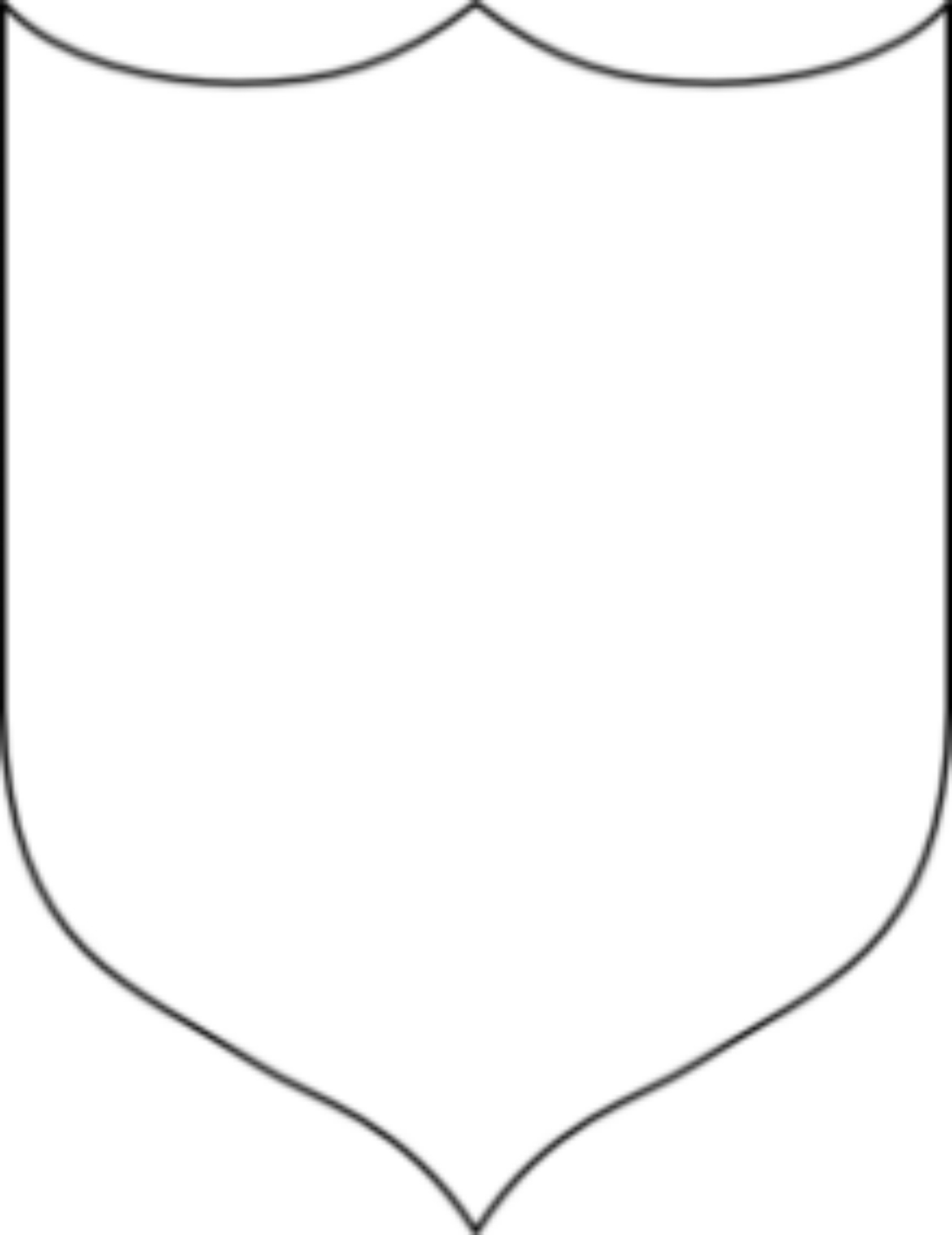 Crest Template | crest clipart 13225283261168630039blank shield md