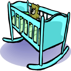 baby crib clip art clipart panda free clipart images rh clipartpanda com baby girl crib clipart