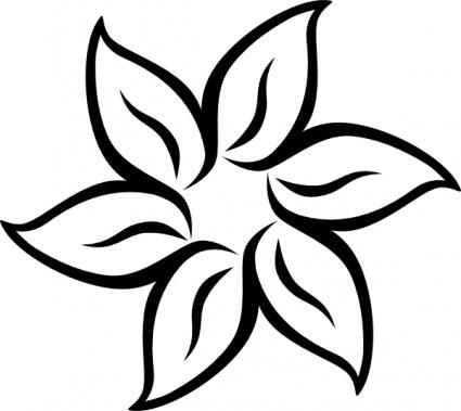 Decorative Flower Clip Art 1 Clipart Panda
