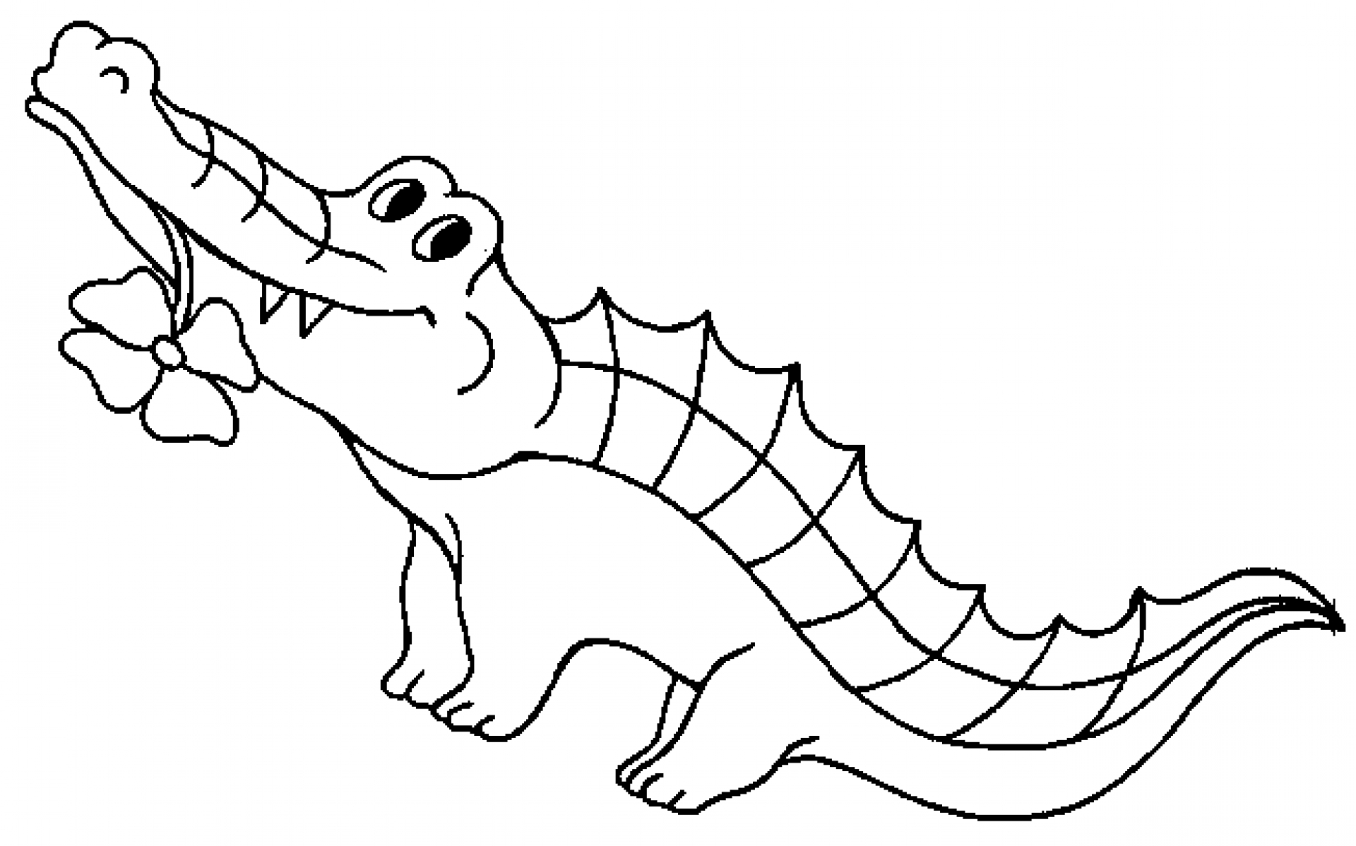 Crocodiles Coloring Pages  Coloring Pages for Kids